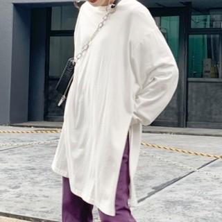 フーズフーギャラリー(WHO'S WHO gallery)のWHO'S WHO gallery★サイドスリットチュニック(Tシャツ(長袖/七分))