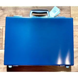 マッキントッシュ(MACKINTOSH)のマッキントッシュロンドン 未使用アタッシュケース 青 MACKINTOSH(ビジネスバッグ)