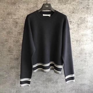 Dior - DIOR ディオール クルーネックCDセーター ブラック