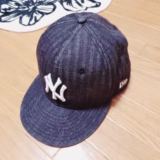 NEW ERA - ニューエラ*キャップ*『7 1/2』NEW ERA*帽子*デニム