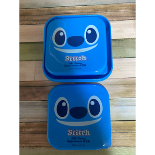 Disney - スティッチの弁当箱2個