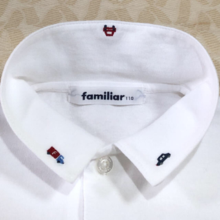 familiar - 現行品‼️ familiar      長袖ブラウス  size 110cm