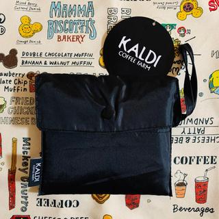 KALDI - カルディ コーヒー ファーム エコバッグ ブラック 黒