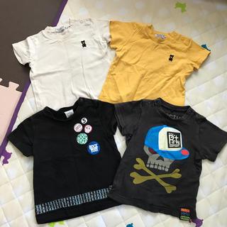 ダブルビー(DOUBLE.B)のTシャツ4枚まとめ売り♡80(Tシャツ)