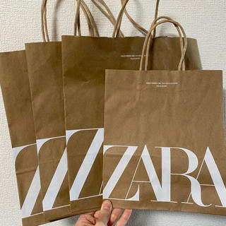 ザラ(ZARA)のzara 紙袋 4枚まとめ売り(ショップ袋)