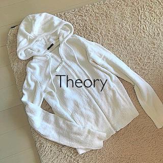 theory - Theory セオリー パイル地 ジップアップ パーカー/プラステ PLST