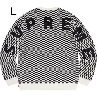 Supreme - Lサイズ Back Logo Sweater