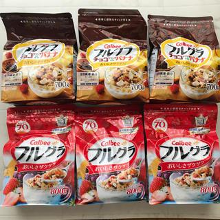 カルビー(カルビー)の【ゆり様カルビー フルグラ&チョコバナナ 6袋セット(その他)