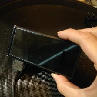 エヌティティドコモ(NTTdocomo)のDOCOMO ガラケー F22  裏カバー(携帯電話本体)
