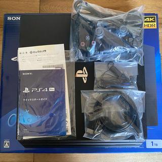 プレイステーション4(PlayStation4)のps4 Pro  1TB CUH-7200B B01 中古美品(家庭用ゲーム機本体)