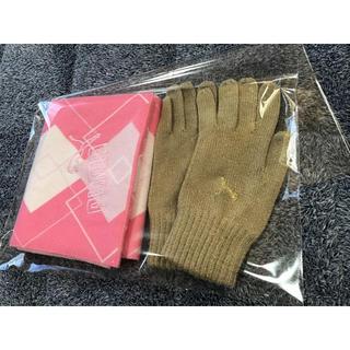 プーマ(PUMA)のPUMA ☆手袋&マフラー セット(セット/コーデ)
