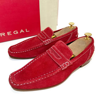 REGAL - 【REGAL】25.0cm ビジネスシューズ 革靴 ローファー スリッポン 男性