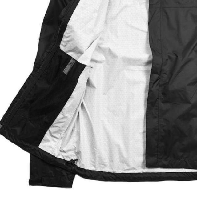 THE NORTH FACE(ザノースフェイス)のノースフェイス ベンチャージャケットDRYVENT(XXL)黒(白)180915 メンズのジャケット/アウター(ナイロンジャケット)の商品写真