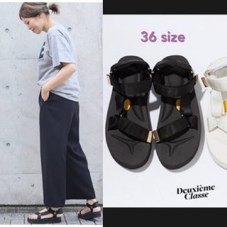 DEUXIEME CLASSE - 美品 ドゥーズィエムクラス 別注 スイコック サイズ36 スポサン グログラン