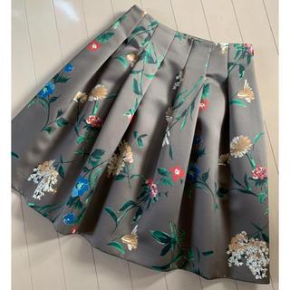 M'S GRACY - 極美品 エムズグレイシー 花柄スカート