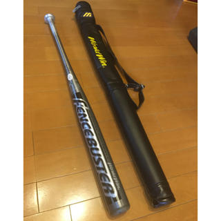 MIZUNO - ソフトボール 3号 金属バット フェンスバスター ケース付き