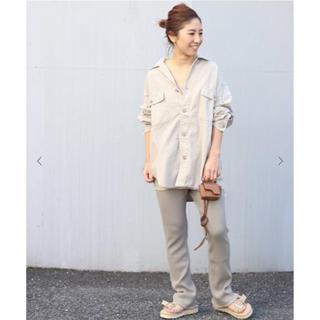 プラージュ(Plage)の専用     Plage 製品加工Bigアーミーシャツ 完売サイズ38(ミリタリージャケット)