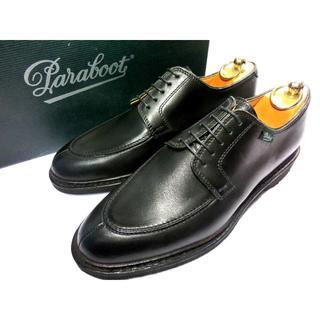 パラブーツ(Paraboot)の【新品】PARABOOT パラブーツ アヴィニヨン 革靴 6 25cm 黒(ドレス/ビジネス)