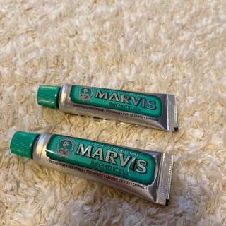 マービス(MARVIS)のMARVIS クラッシックストロングミント 10ml(歯磨き粉)