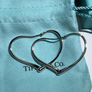 Tiffany & Co. - ティファニー ハート ピアス
