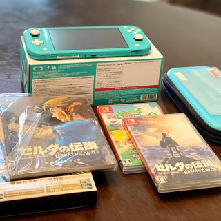 ニンテンドースイッチ(Nintendo Switch)の任天堂 Switch Lite ターコイズ ゼルダ あつ森(携帯用ゲーム機本体)