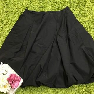 FOXEY - フォクシー レディボリューミースカート黒