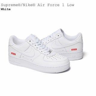 NIKE - Supreme/Nike Air Force 1 Low 26cm