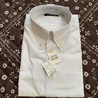 新品タグ付き❣️VISARUNO ビサルノメンズ ワイシャツ 長袖 41-84(シャツ)