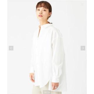 UNITED ARROWS - ホワイトビッグシルエットシャツ