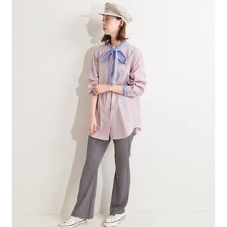 IENA - IENA【イエナ】☆IENA LA BOUCLE ストライプ ボウタイシャツ新品