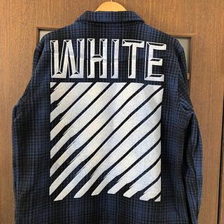OFF-WHITE - off-white タータンチェックシャツ