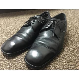グッチ(Gucci)のグッチ GUCCI シューズ 革靴 39 1/2 レザー 黒 メンズ(ドレス/ビジネス)