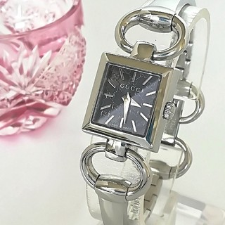 Gucci - 綺麗 グッチ 新品仕上げ GG文字盤 レディースウォッチ 時計 入学式 極美品