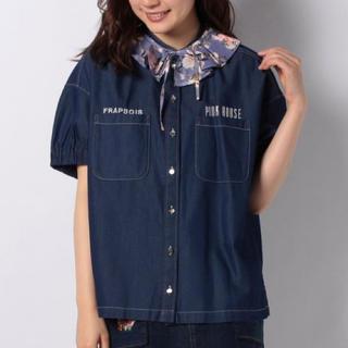 PINK HOUSE - 新品✨定価22000円 フラボア ピンクハウス コラボのシャツ 綿69% 大特価