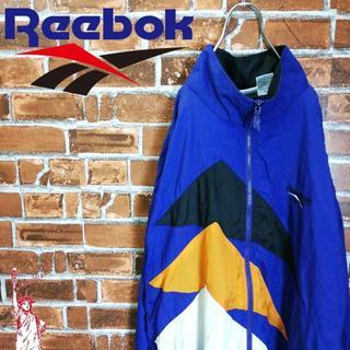 リーボック(Reebok)の【ベクターロゴ】【刺繍】リーボック☆ナイロンパーカー(ナイロンジャケット)