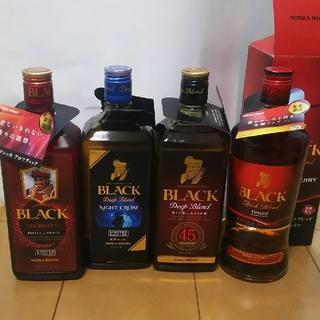 ニッカウヰスキー - ブラックニッカ ナイトクルーズ・アロマティック・他計4本