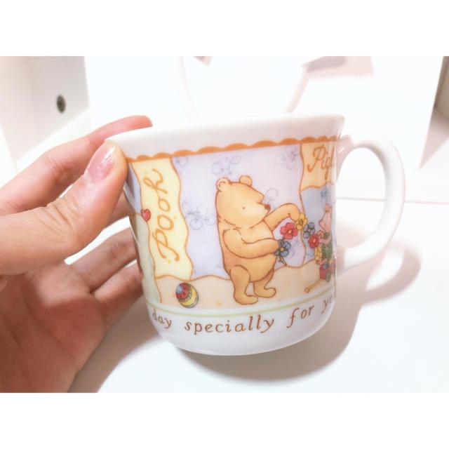 Disney(ディズニー)のDisney プーさん マグカップ インテリア/住まい/日用品のキッチン/食器(食器)の商品写真