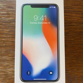 Apple - iPhone X 64GB SIMフリー シルバー x