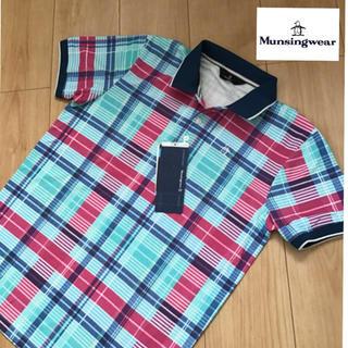 DESCENTE - M新品定価19800円マンシングウェア メンズ トップス半袖ポロシャツ