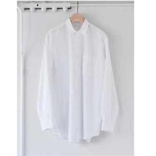 COMOLI - 【19aw】comoli シャツ ホワイト サイズ 1