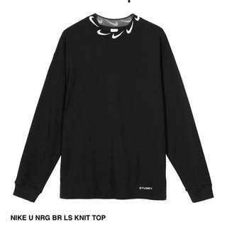 STUSSY - XL NIKE STUSSY U NRG BR LS KNIT TOP