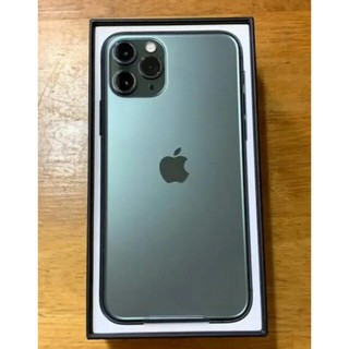 iPhone - 新品 iPhone11 pro 512GB ミッドナイトグリーン