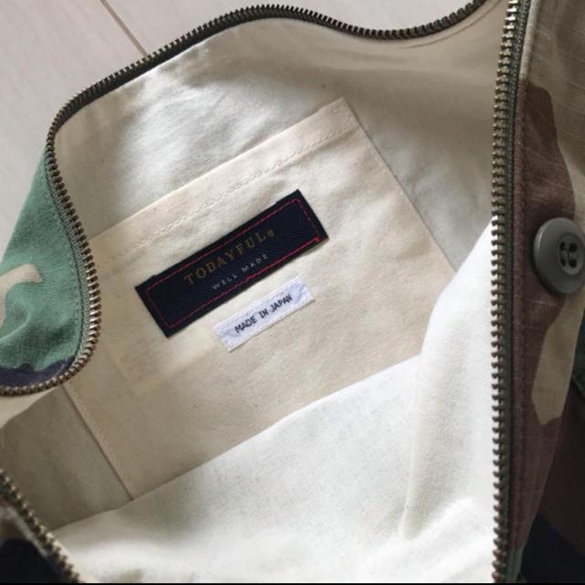 TODAYFUL(トゥデイフル)のtodayful / カモフラ クラッチバッグ レディースのバッグ(クラッチバッグ)の商品写真