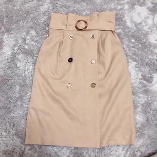 MIIA - MIIA トレンチ風スカート