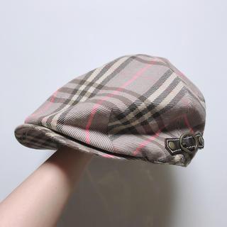 バーバリーブルーレーベル(BURBERRY BLUE LABEL)のバーバリー 帽子(キャップ)