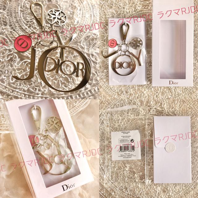 Dior(ディオール)の【2個✦新品未開封】限定非売品 ジョイ ミスディオール キーリング ノベルティー レディースのファッション小物(キーホルダー)の商品写真