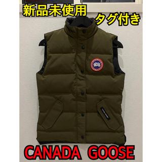 カナダグース(CANADA GOOSE)の新品未使用 CANADA GOOSE フリースタイルベスト 2832L S(ダウンベスト)