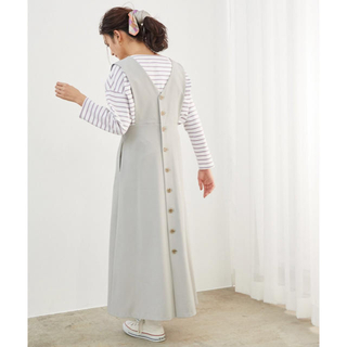 Rope' Picnic - 2020ss☆バックボタンジャンパースカート
