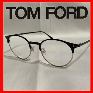 TOM FORD - トムフォード メガネ ブロー ラウンド メタル ブルーライトカット 眼鏡