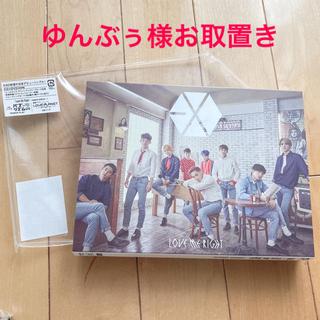 エクソ(EXO)のEXO 初回盤Love Me Right 〜romantic universe(K-POP/アジア)